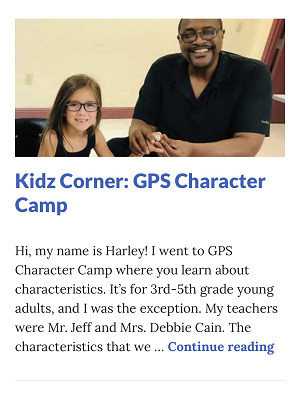 Picture of Harley Isabel Smith Wearing Tyrone Keys Super Bowl Ring for September 2019 GPS Character Camp Article for Dunndeal Publications